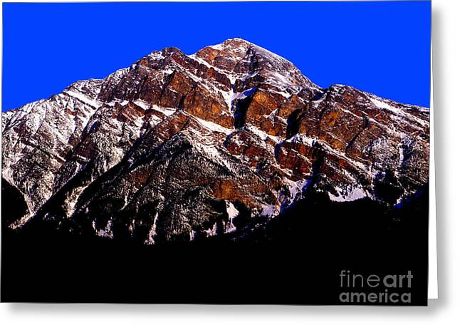 Pyramid Mountain Greeting Cards - Everyday Glory Greeting Card by Terry Elniski