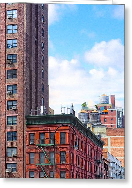 Historic Tank Greeting Cards - Everyday New York City - West Village Greeting Card by Mark Tisdale