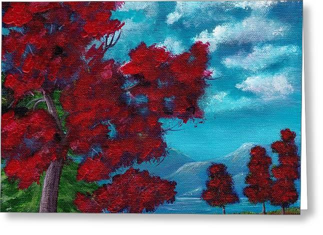Everything Autumn Greeting Card by Anastasiya Malakhova