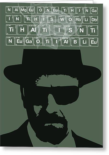 Money Quotes Greeting Cards - Everything Is Negotiable by Walter White Greeting Card by Florian Rodarte
