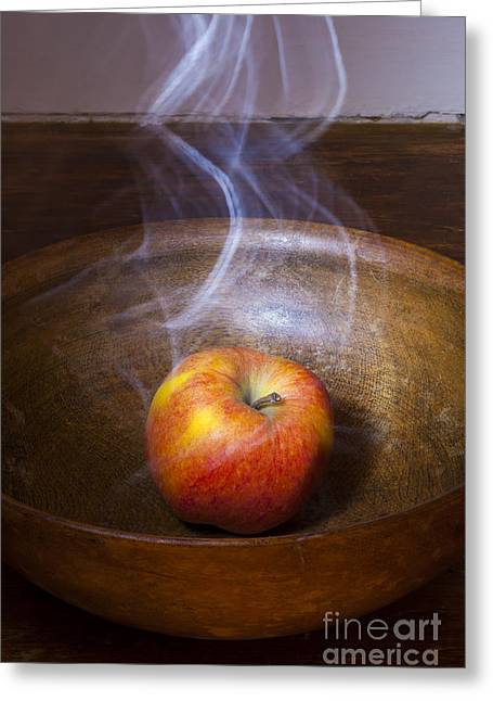 Eve's Apple Greeting Card by Donald Davis