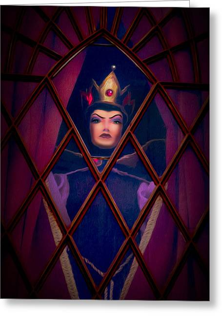 Evil Queen Greeting Card by Timothy Ramos