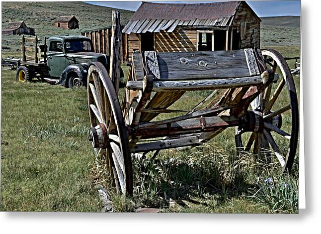 Best Sellers -  - Carter House Greeting Cards - Evolucion de Transporte Moderno Greeting Card by See My  Photos