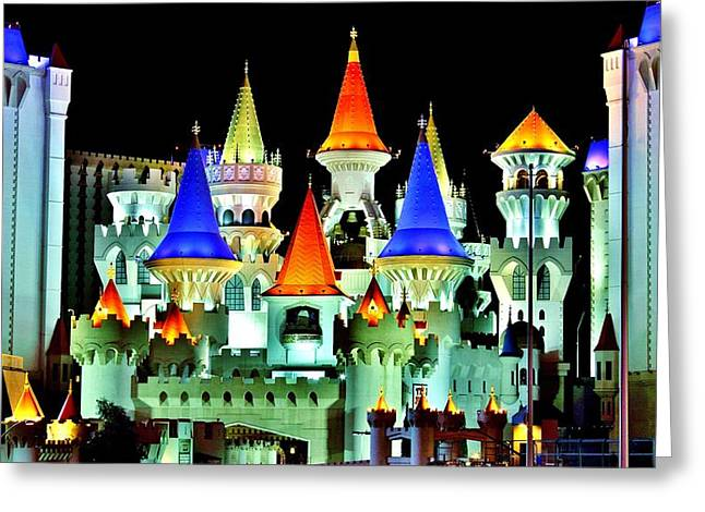 Camelot Greeting Cards - Excalibur Greeting Card by Benjamin Yeager