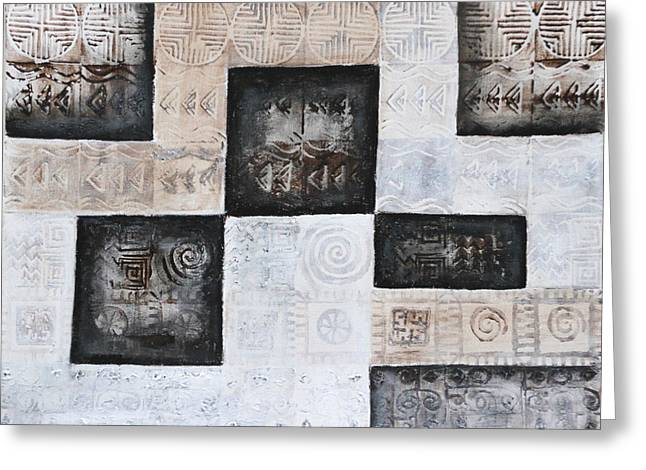 Sacrificial Art Greeting Cards - Excavation I Greeting Card by Diana Perfect