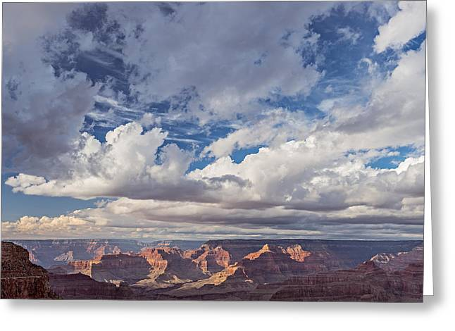 Erosion Greeting Cards - Exceptional Afternoon Greeting Card by Duane Miller