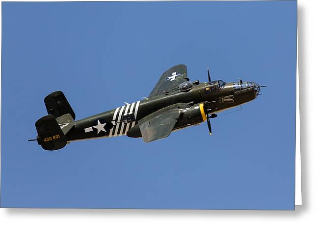 Palm Springs Airport Greeting Cards - Executive Sweet Climbing Turn Greeting Card by John Daly