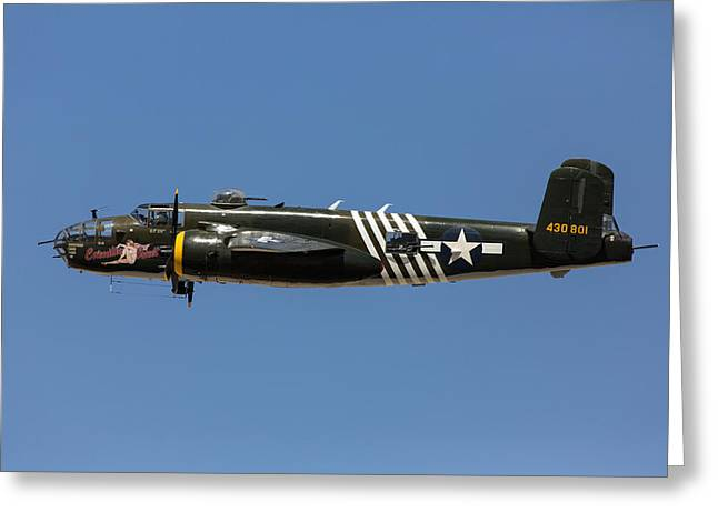 B-25 Mitchell Greeting Cards - Executive Sweet Greeting Card by John Daly