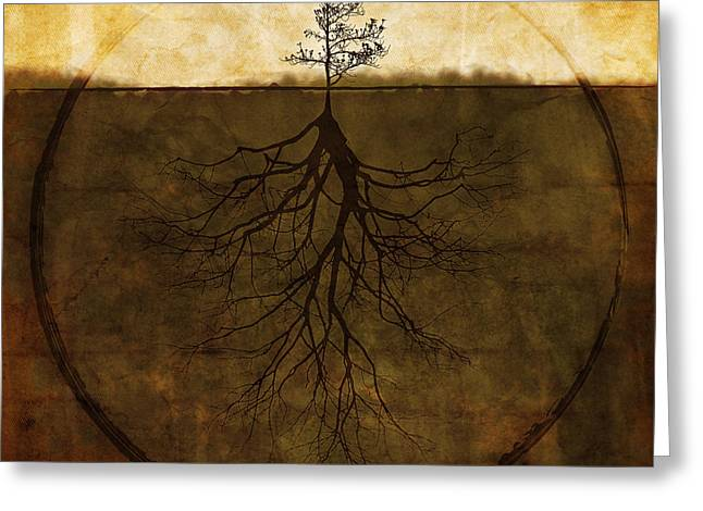 Tree Roots Greeting Cards - Exemplar Greeting Card by Brett Pfister