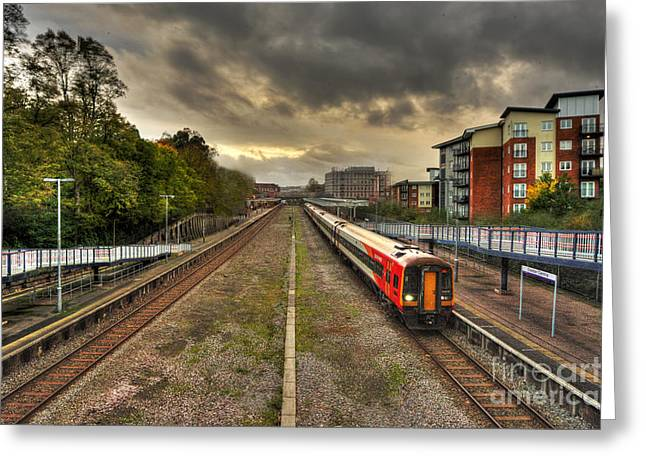 Exeter Greeting Cards - Exeter Central  Greeting Card by Rob Hawkins