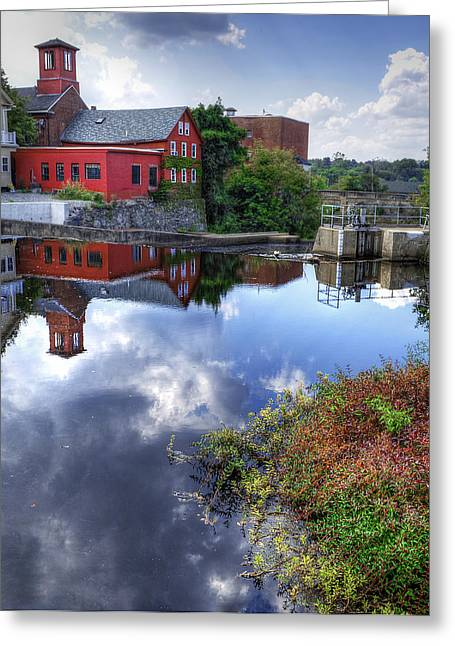 Exeter Greeting Cards - Exeter New Hampshire Greeting Card by Rick Mosher