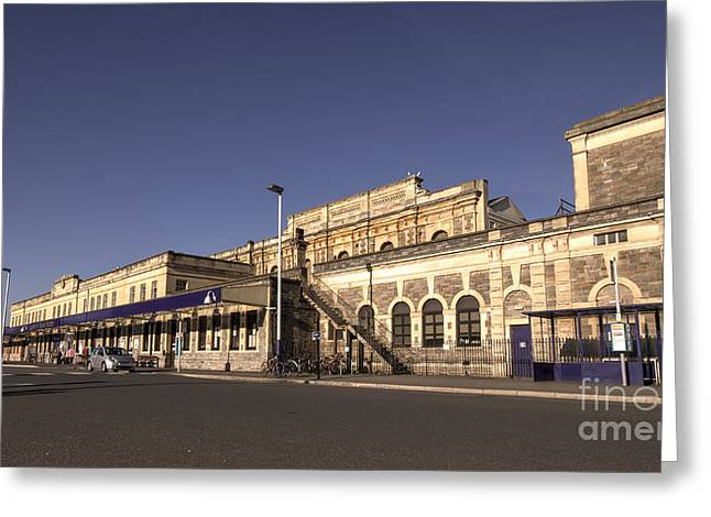 Exeter Greeting Cards - Exeter St Davids Station  Greeting Card by Rob Hawkins