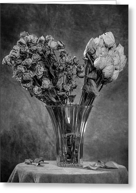 Textile Photographs Greeting Cards - Exeunt #3 Greeting Card by Morocco Flowers Images