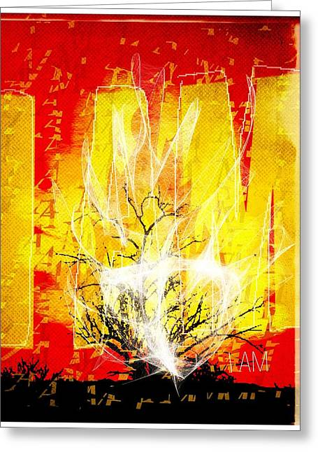 Bible Greeting Cards - Exodus I AM Greeting Card by Mike Brennan