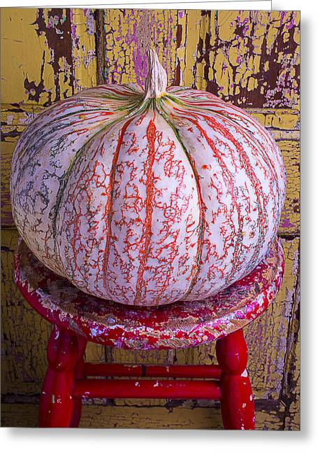 Exotic Fruit Greeting Cards - Exotic Pumpkin Greeting Card by Garry Gay