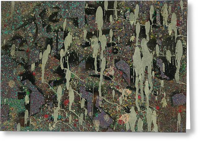 Stellar Paintings Greeting Cards - Expected Mass Departures Greeting Card by Anonymous