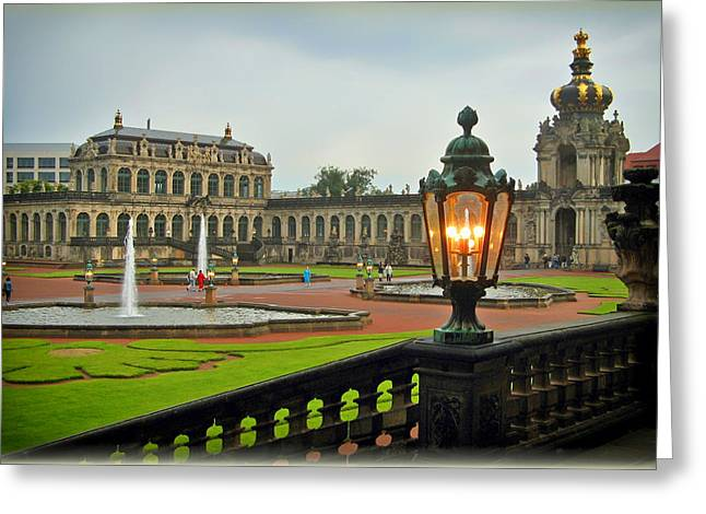 Dresden Greeting Cards - Exploring Dresden Greeting Card by Mountain Dreams