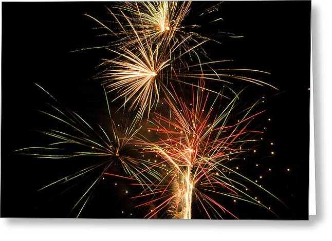 Explosion Greeting Card by Shirley Tinkham