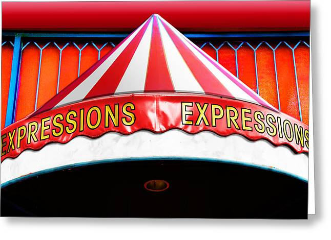 Store Fronts Digital Greeting Cards - Expressions Greeting Card by Paul Wear