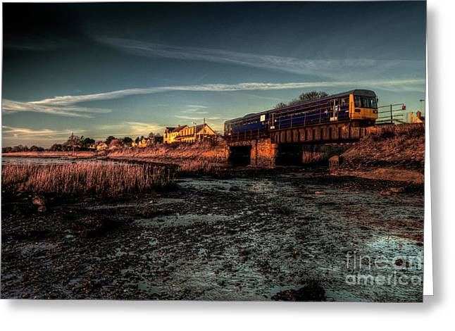 First-class Greeting Cards - Exton on the Exe Greeting Card by Rob Hawkins
