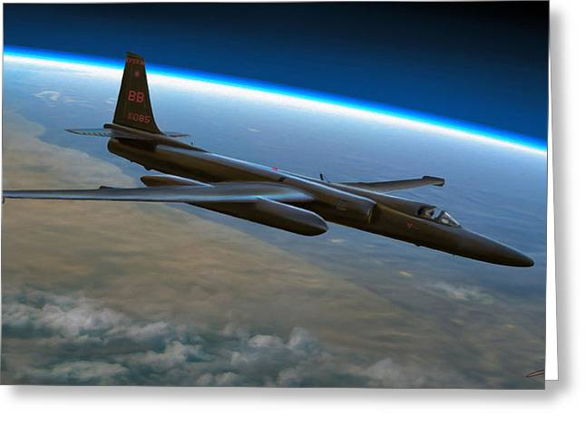 Recon Greeting Cards - Extreme Altitude Greeting Card by Dale Jackson