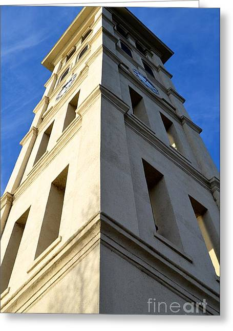 Light And Dark Photographs Greeting Cards - Extreme Angles Greeting Card by Corinne Rhode