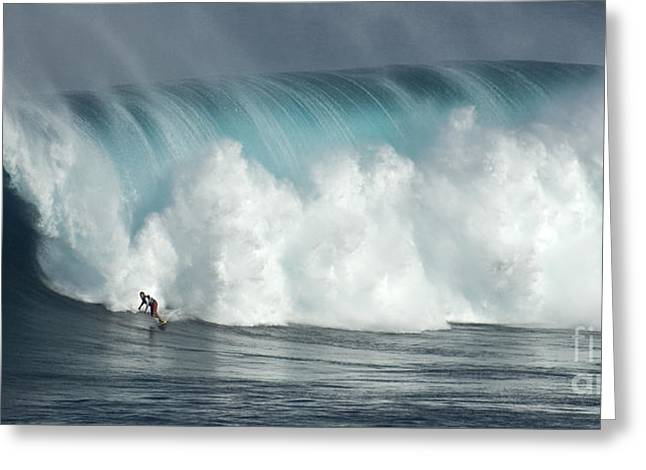 Best Sellers -  - Surfing Photos Greeting Cards - Extreme Ways Of Living Greeting Card by Bob Christopher