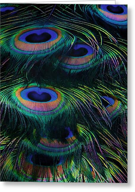 Royal Art Greeting Cards - Eye Abstracted Greeting Card by Kandy Hurley