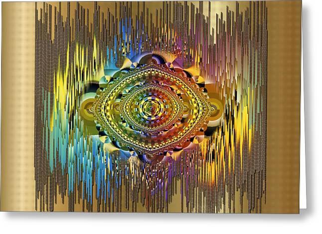 Mario Carini Greeting Cards - Eye of the Rainbow Greeting Card by Mario Carini