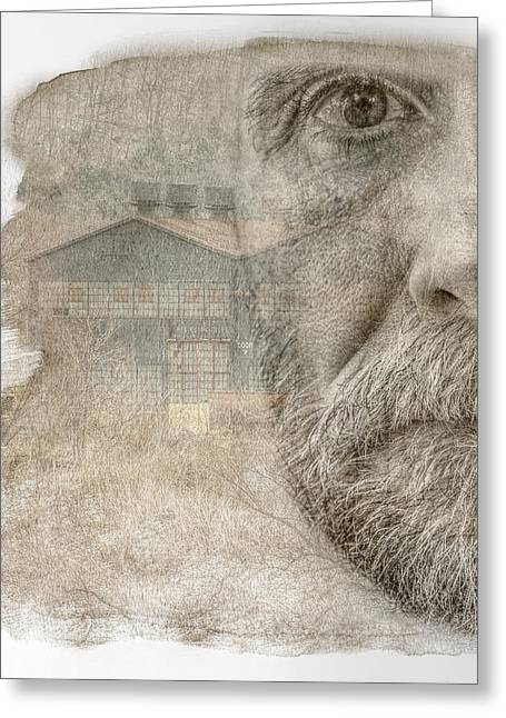 Hdr Look Digital Greeting Cards - Eye on the Past Greeting Card by Randy Steele