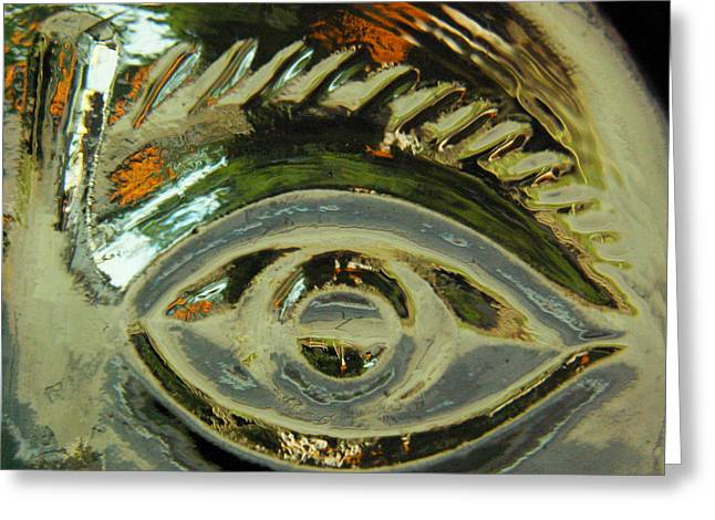 D�cor Greeting Cards - ...Eye see... Greeting Card by Charles Struse Sr
