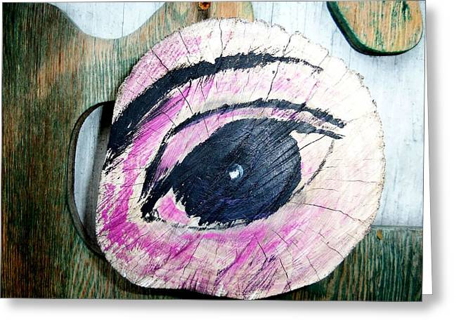 Eyes Wide Open Greeting Cards - Eyes For You 4 Greeting Card by Ron Kandt