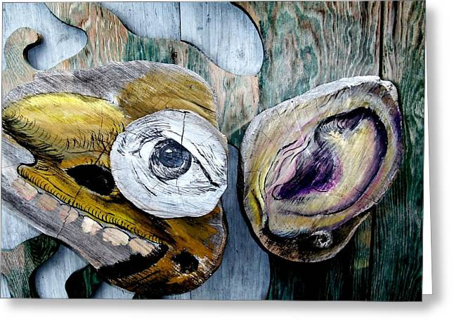 Eyes Wide Open Greeting Cards - Eyes For You 5 Greeting Card by Ron Kandt