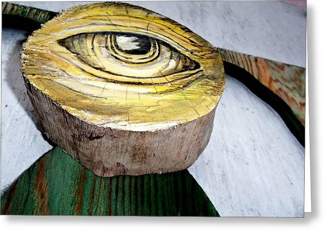 Eyes Wide Open Greeting Cards - Eyes For You 6 Greeting Card by Ron Kandt