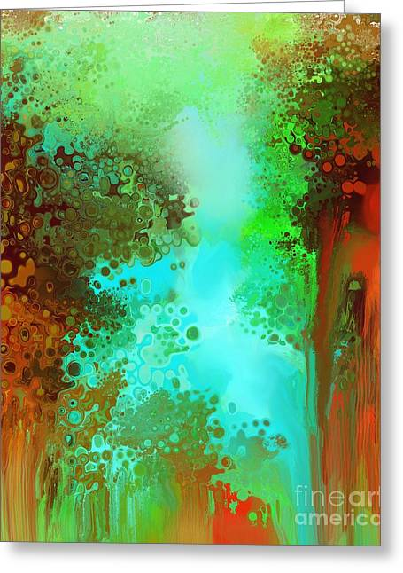 Grounding Greeting Cards - Eyes Toward the Sky - Feets on Earth Greeting Card by Louise Lamirande
