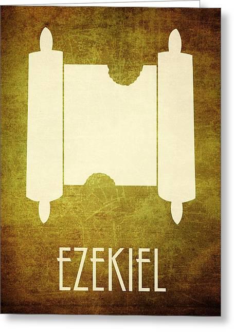 Bible Digital Art Greeting Cards - Ezekiel Greeting Card by Brett Pfister