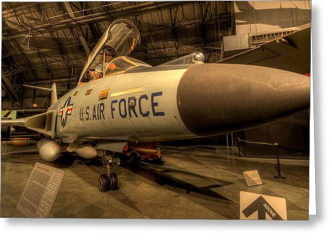 F-101 Greeting Cards - F-101 VooDoo Greeting Card by David Dufresne