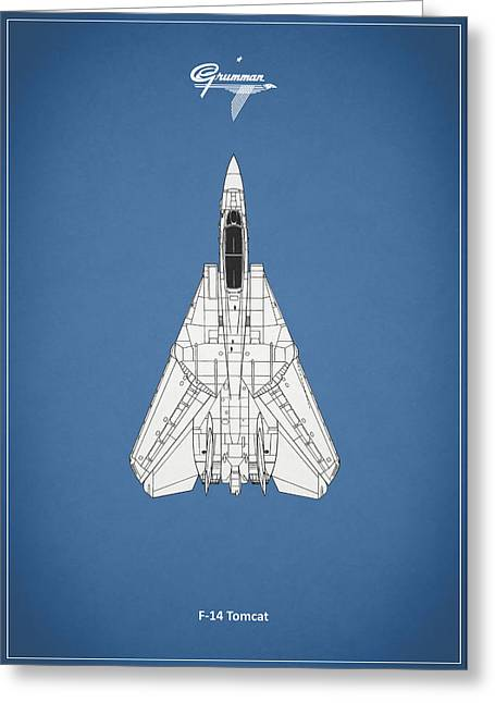 F Greeting Cards - F-14 Tomcat Greeting Card by Mark Rogan