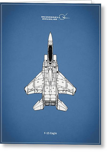 15 Greeting Cards - F-15 Eagle Greeting Card by Mark Rogan