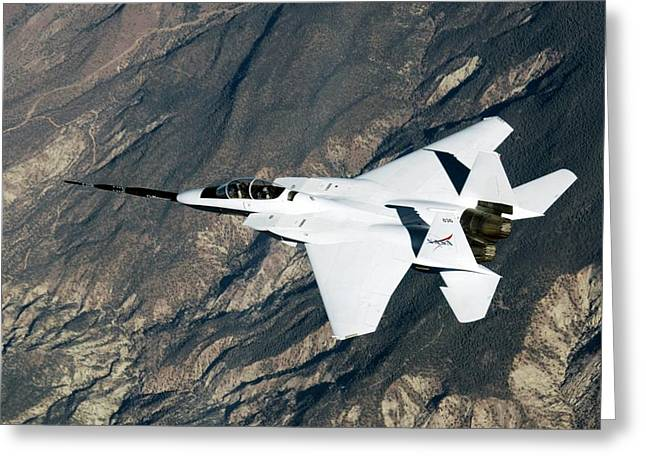 F-15b Quiet Spike Test Plane Greeting Card by Nasa