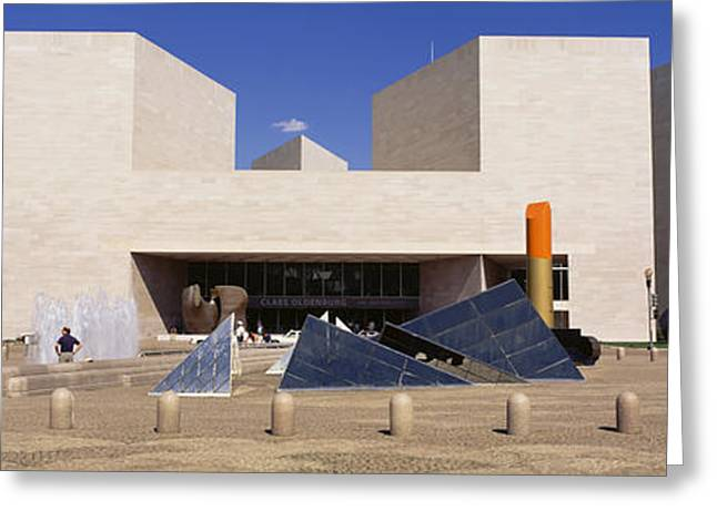 Sculpture Gallery Greeting Cards - Facade Of A Building, National Gallery Greeting Card by Panoramic Images