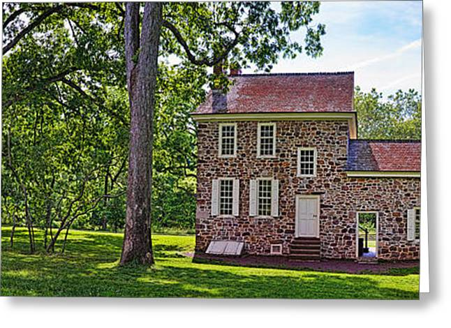 Facades Greeting Cards - Facade Of A Building, Washingtons Greeting Card by Panoramic Images