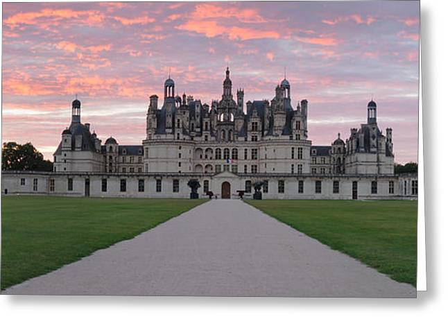 Chateau Greeting Cards - Facade Of A Castle, Chateau Royal De Greeting Card by Panoramic Images