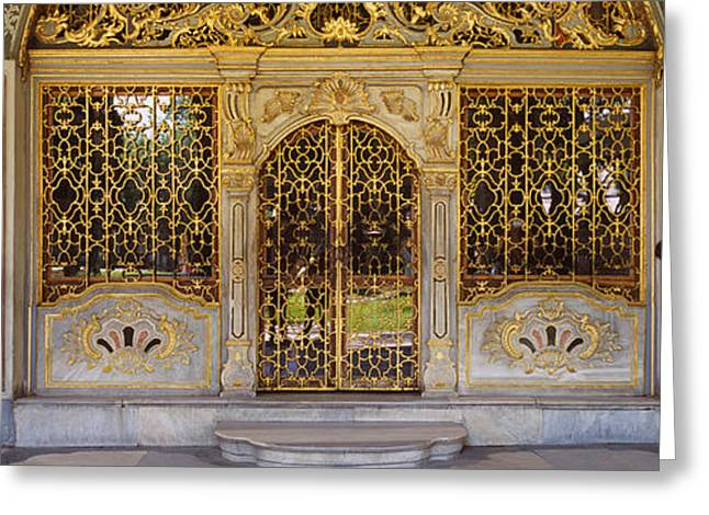Istanbul Greeting Cards - Facade Of A Conference Room, Topkapi Greeting Card by Panoramic Images