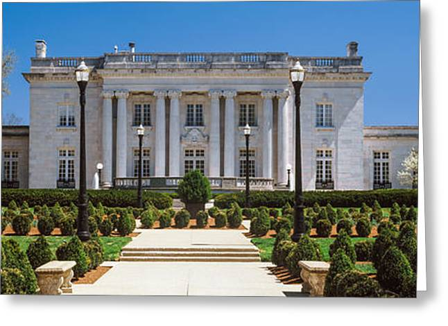 Franklin Greeting Cards - Facade Of The Kentucky Governors Greeting Card by Panoramic Images