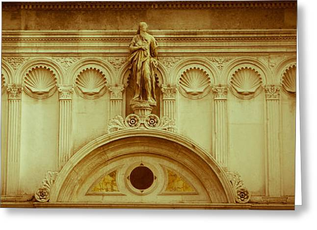 Historic Statue Greeting Cards - Faceless  Greeting Card by Steven  Taylor