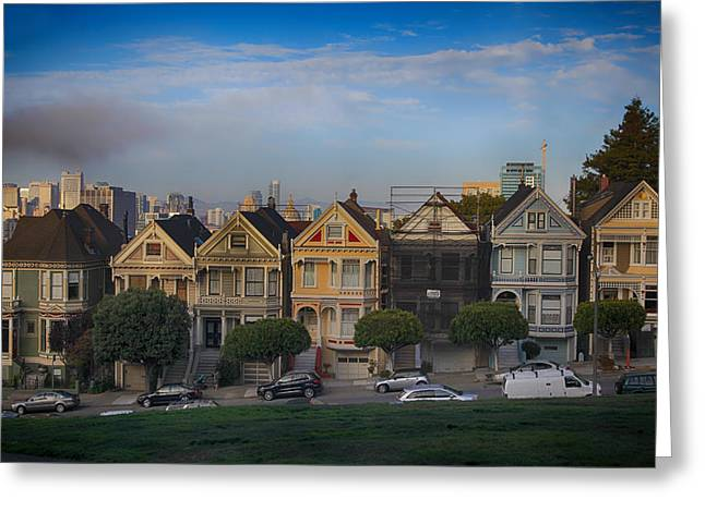San Francisco Ca Greeting Cards - Facelift Greeting Card by Laurie Search