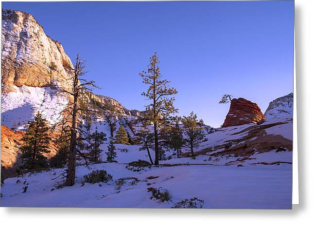 Fade Greeting Card by Chad Dutson