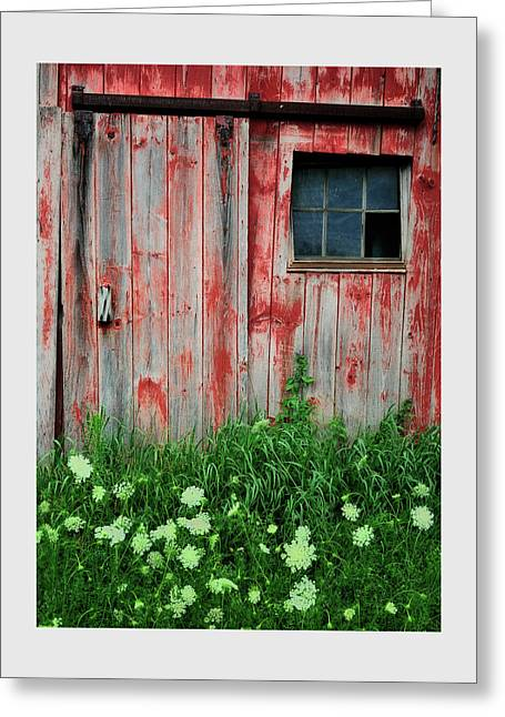Out-building Greeting Cards - Fade to Gray Greeting Card by Thomas Schoeller