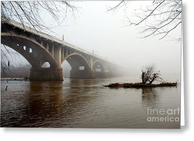 Scenic Tours Greeting Cards - Fade To Infinity Greeting Card by Skip Willits
